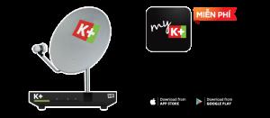Lắp chảo đầu thu K+miễn phí tài kkhoanr MyK+
